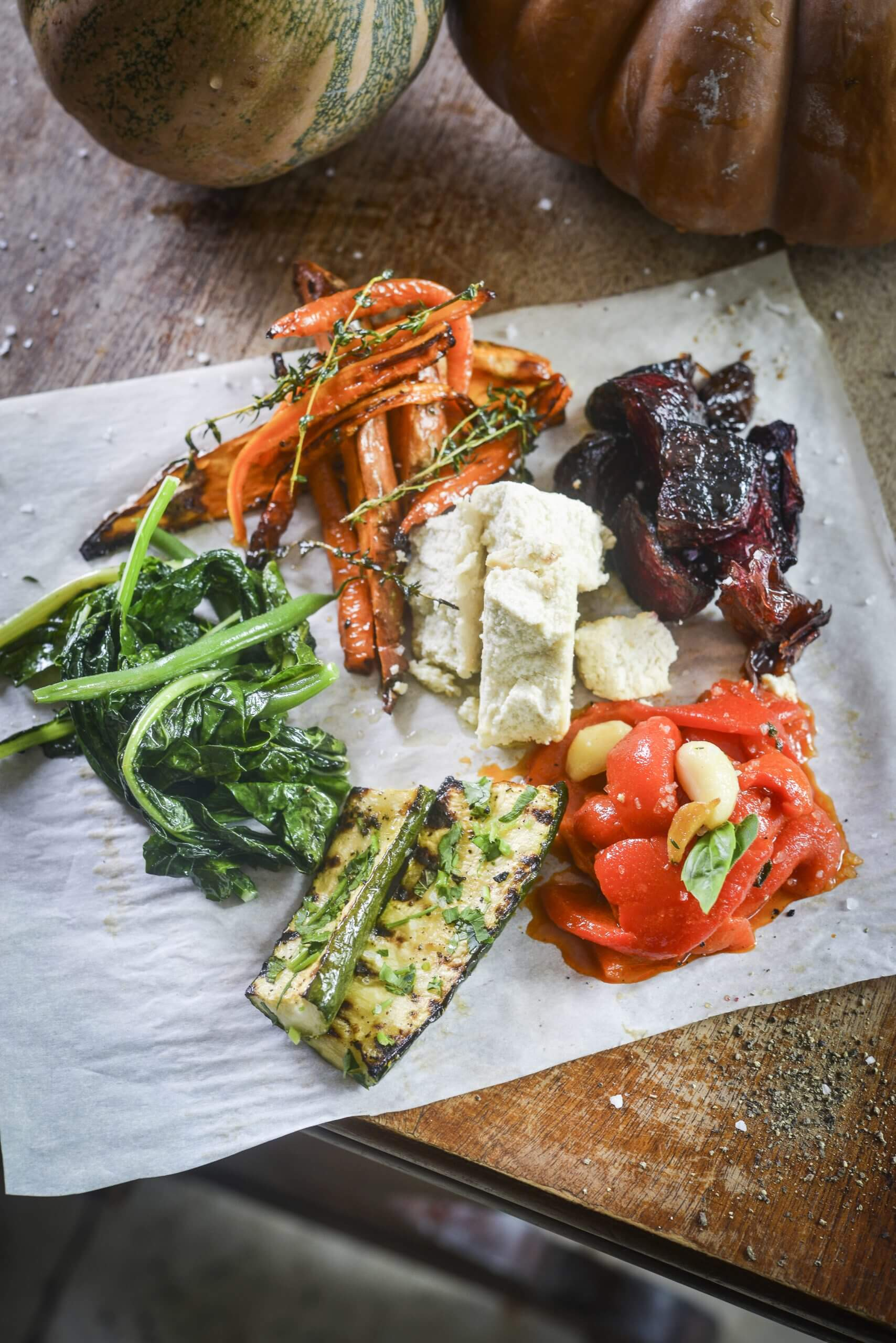 Seasonal Vegetable Antipasti