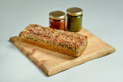 Teff Bread and Two Spreads Kit