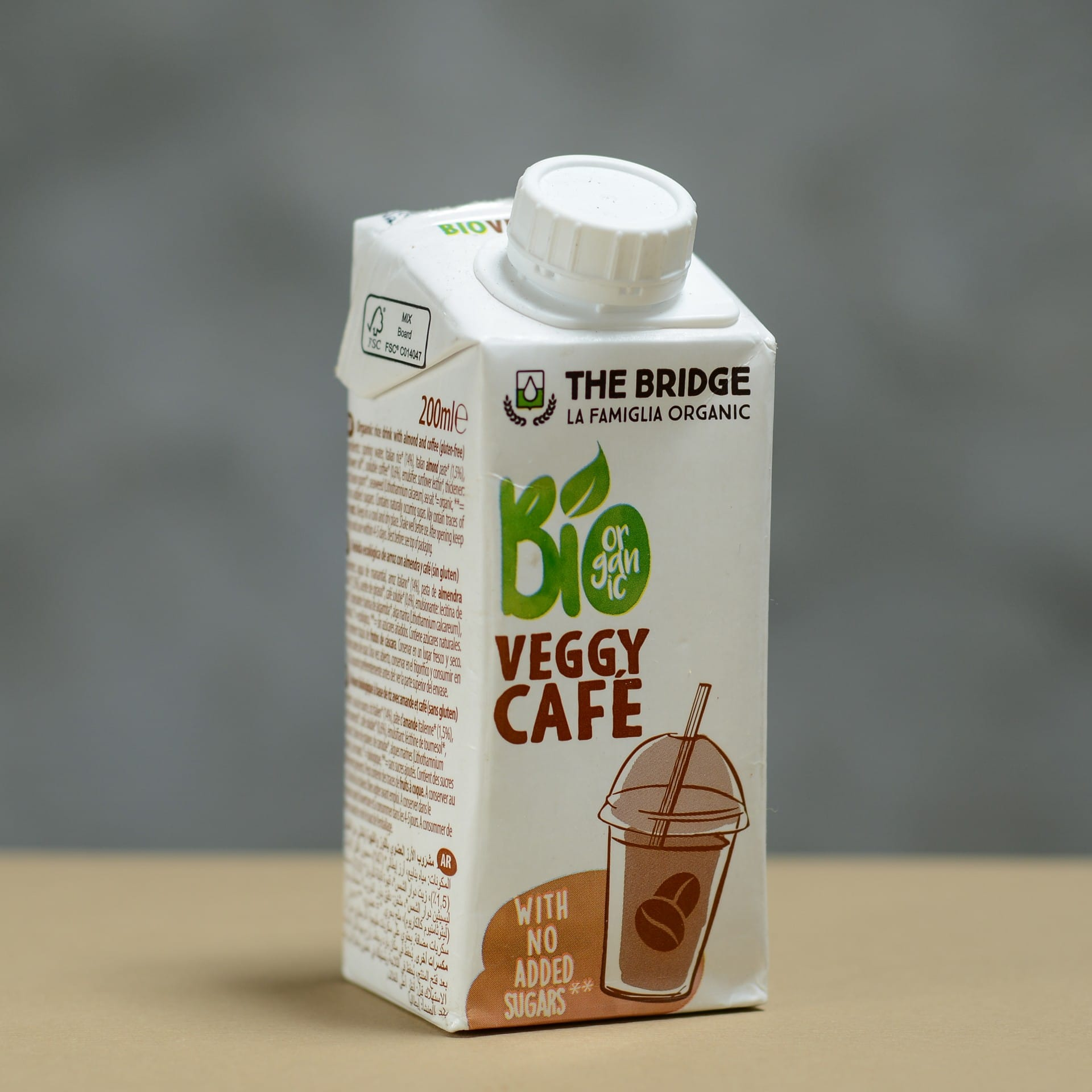 Veggy Cafe- organic cold coffee drink