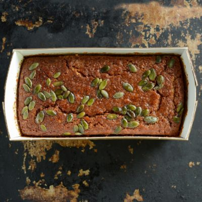 Carrot Tahini Cake