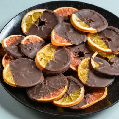 Chocolate Covered Dried Orange